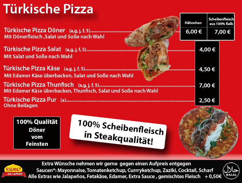 turkische pizza